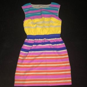 LOFT MULTI-COLOR DRESS